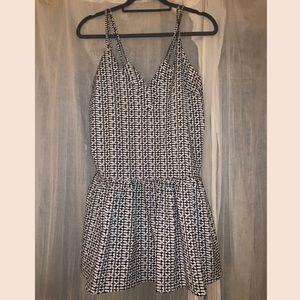 Re:Named Shirt Mini Dress | Tiered Bottom